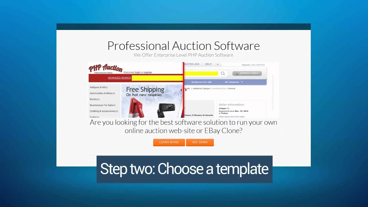 MYPHPAUCTION EBAY CLONE 2012 DOWNLOAD