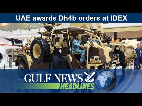 UAE awards Dh4b orders at IDEX - GN Headlines