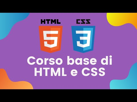 Corso Base Di HTML E CSS 5/31