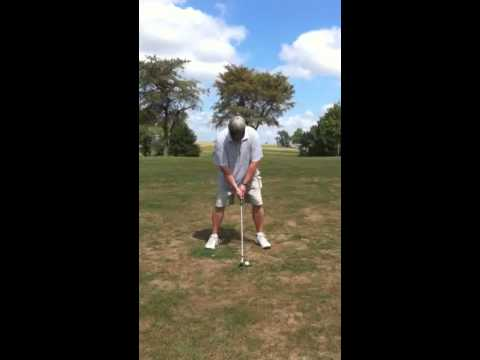 Kevin Atwood golfing