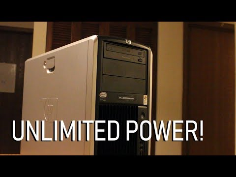 8 Cores of RAW POWER! | The HP xw8400 Workstation
