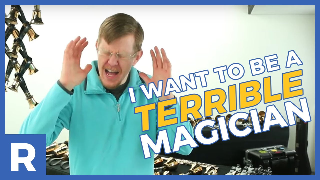 Daniel wants to be a TERRIBLE MAGICIAN, and you can help.