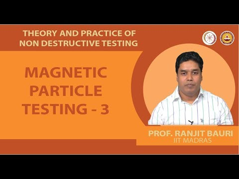 Magnetic particle testing - 3