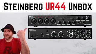 New Audio Interface! Unboxing the Steinberg UR44 USB Audio & MIDI Interface
