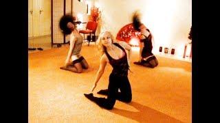 урок стриппластики, гибкое тело, танец с раздеванием