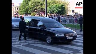 Ceremony ahead of royal burial for Louis XVII