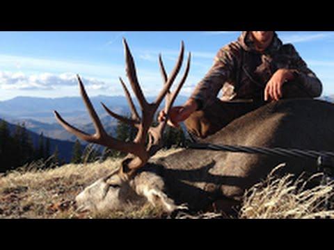 """Wyoming Mule Deer Hunt 180""""- Stuck N the Rut 56"""