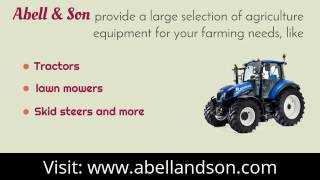 Tractors and Farm Equipment for Sale