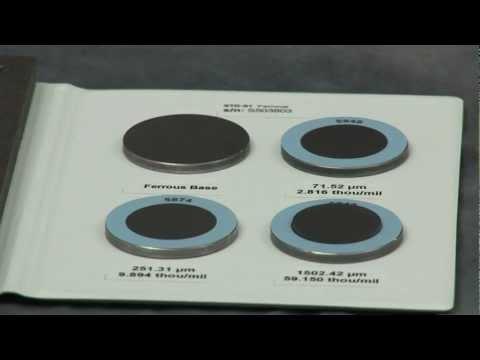 DeFelsko Certified Coated Metal Plates - Calibration Standards
