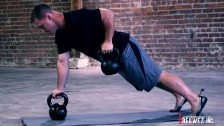 1-Minute to Mastery ™: Kettlebell Pushup + Renegade Row