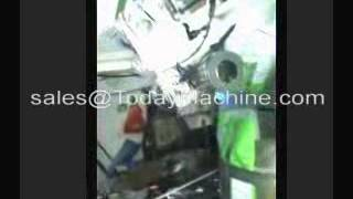 Single Lane Sachet Filling Sealing And Packing Machine By Film Roll