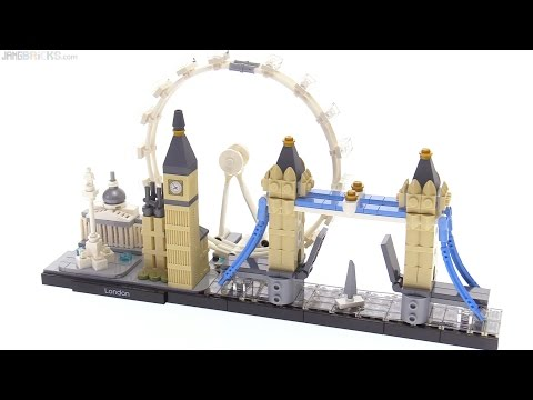 LEGO Architecture Skylines: London review! 21034 🇬🇧