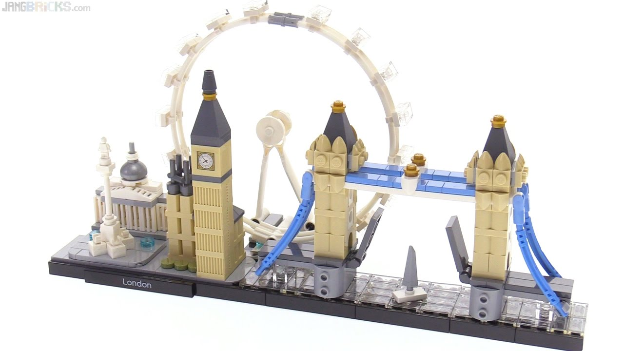 LEGO Architecture Skylines: London review! 21034 🇬🇧 #1