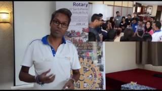 Rotary St-Pierre Training Workshop