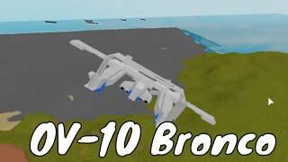 Plane Crazy Showcase || OV-10 Bronco in Roblox