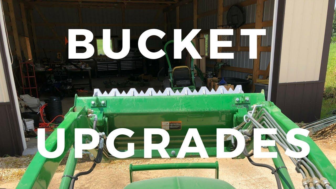 John Deere 2025r Bucket Upgrade