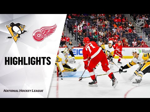 09/22/19 Condensed Game: Penguins @ Red Wings