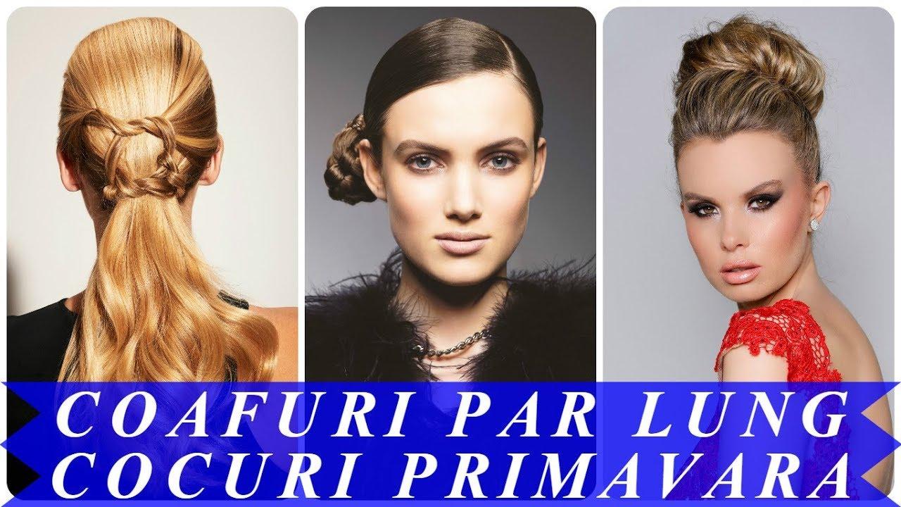Modele De Coafuri Par Lung Cocuri Primavara 2018 Youtube