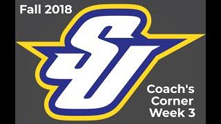 Fall 2018 - Week Three Coach's Corner