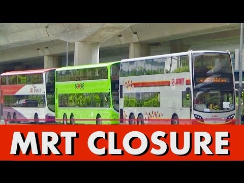 MRT CLOSURE - All 4 Bus Operators activated for MRT Shuttle Buses