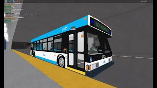 ROBLOX Buses: Fairview Transit 2005 Taking Off