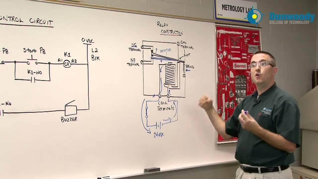 Engineering  Relay Logic Circuits Part 1 (EJ Daigle