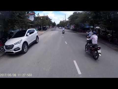 Con đường Từ nhà nghỉ Thành An 3 TP.Huế ra Biển Thuận An