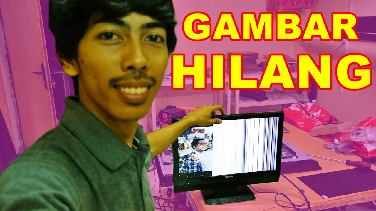 Tv Led Toshiba Gambar Hilang Setengah Vlog24 Youtube