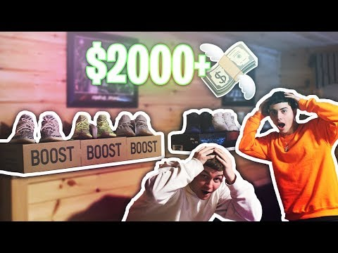 MY $2000+ ULTIMATE SHOE COLLECTION IN 2019! (HYPEBEAST SHOES) - Insane Sneaker Collection