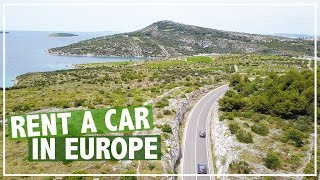 HOW TO RENT A CAR IN EUROPE | Driving TIPS in Croatia