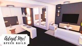 Budget Modern Tiny Home Speed Build  Roblox Adopt Me!