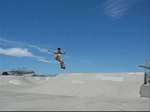 jeff 180 mute at alameda naval air base skatepark