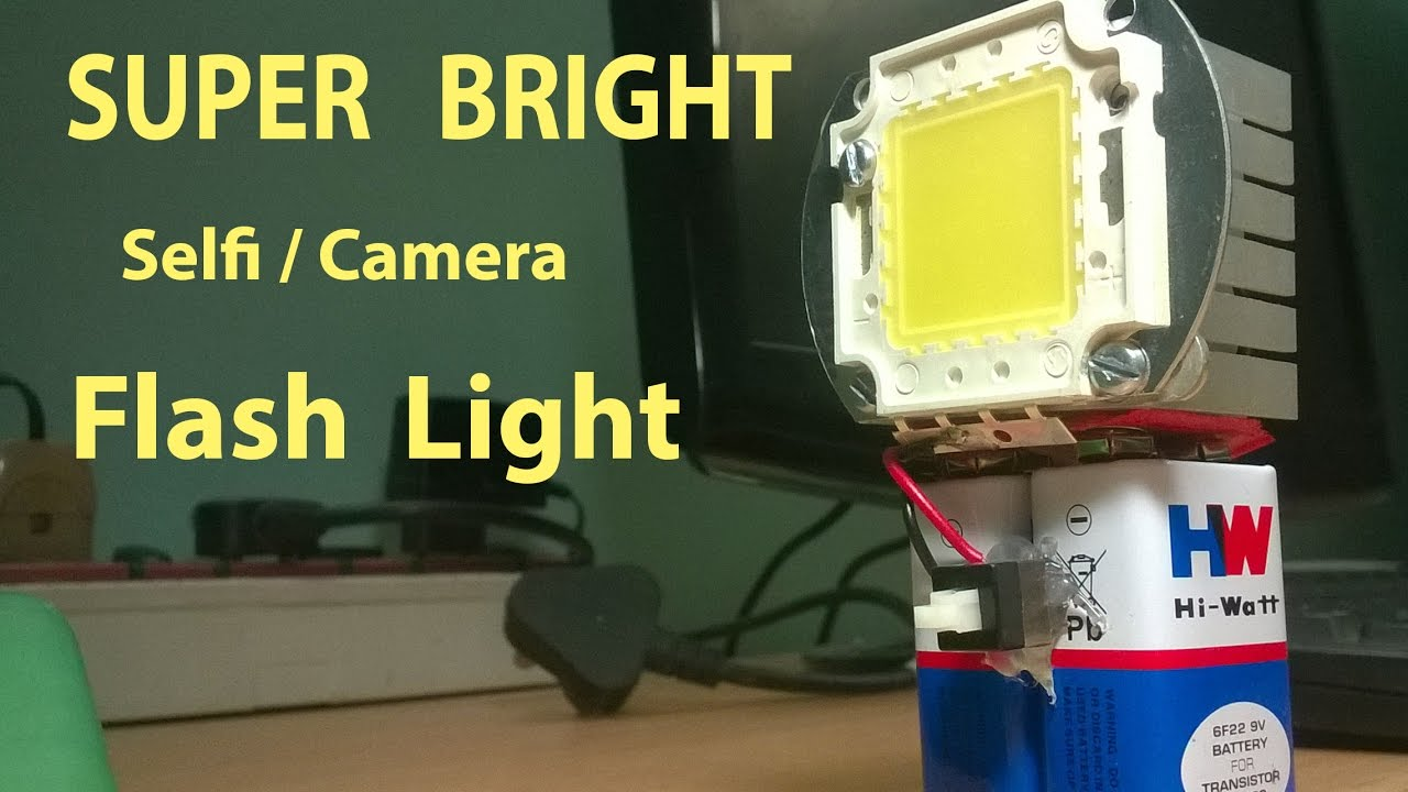 Super Bright mobile Flash Light (Portable) How to Make ...