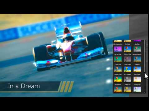 ActionDirector - Color Presets Demo Video | CyberLink