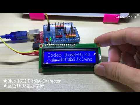 OPEN SMART I2C 1602 LCD