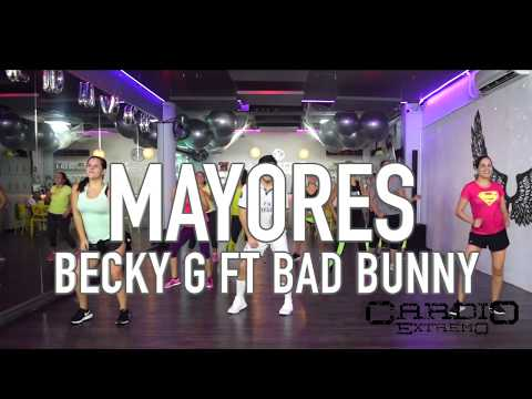 Mayores Urban Tropical - Becky G ft Bad Bunny by Cesar James Coreo Zumba Cardio Extremo Cancun