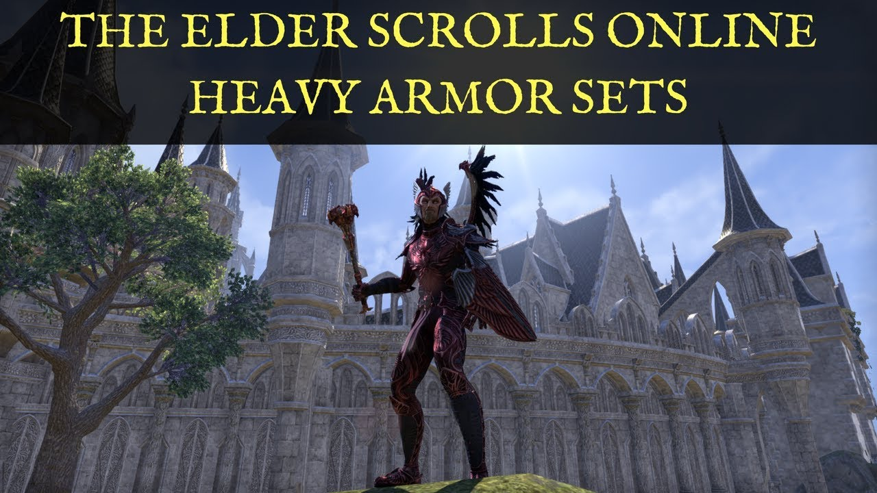 TESO: Heavy Armor Sets Summerset PTS