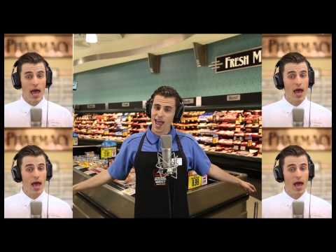 Mike Tompkins 2013 Harris Teeter Video