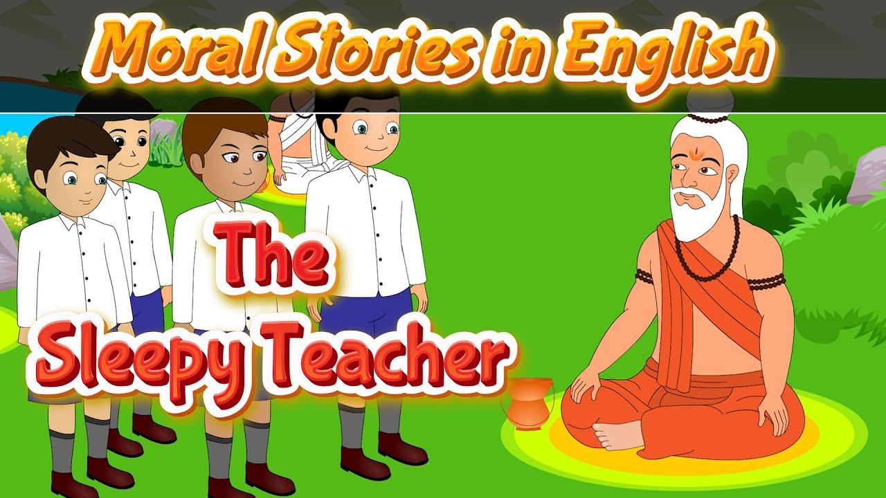 A Sleepy Teacher Never Lie Story in English | Moral Stories | Bedtime Stories | Pebbles Kids Stories