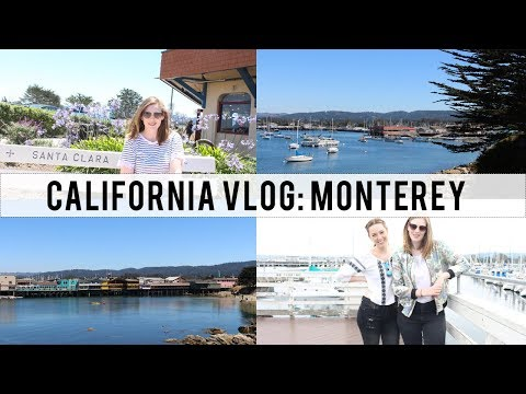 FIVE DAYS IN MONTEREY | Travel Vlog | The Book Belle