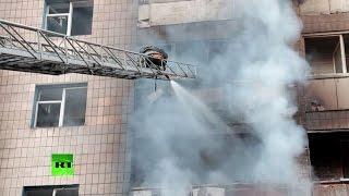 Новые бои в Донецке: поступают сообщения о разрушениях и пострадавших