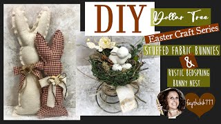 Diy Dollar Tree Farmhouse Rustic Easter Decor | Diy Dollar Tree Easter Crafts | Diy  Dollar Tree