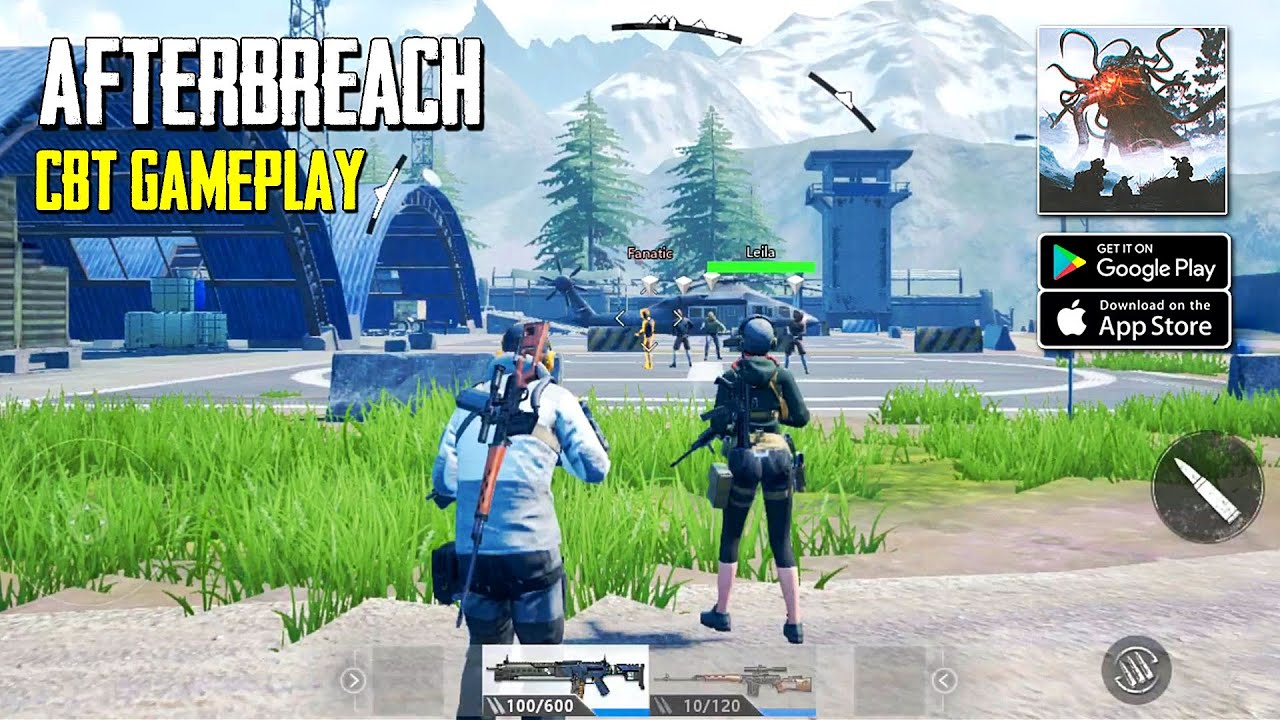 AfterBreach - Mystery Shooter CBT Gameplay (Android/IOS)