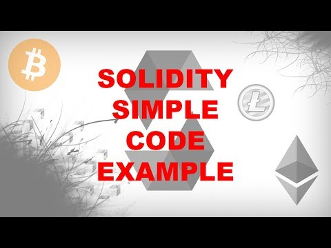 Simple Source Code Example [Create Blockchain Applications Using Solidity]