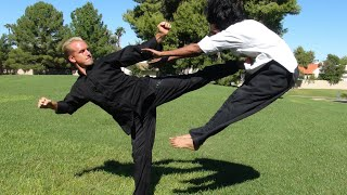 Real Kung Fu Fighting, part 1(3 Real Kung Fu techniques I want you all to try at home! Good luck. Real Kung Fu Fighting - PART 2 Here: https://www.youtube.com/watch?v=x4ftRZ0a6Kc Join ..., 2011-09-28T21:35:49.000Z)
