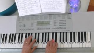 How To Play ~ Andante Grazioso ~ Mozart ~ LetterNotePlayer ©