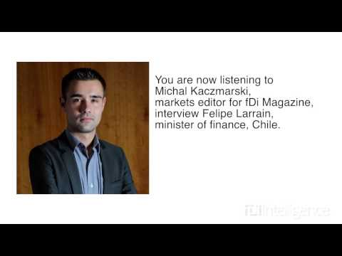 Interview with Felipe Larrain, minister of finance in Chile, at IMF 2013