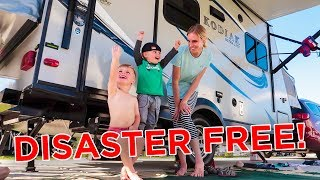 FINALLY! A DISASTER FREE FAMILY CAMPING TRIP!