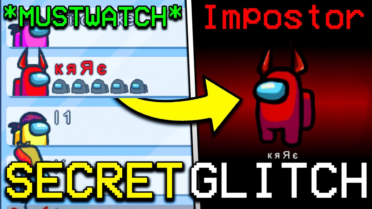 Download SECRET GLITCH TO BECOME IMPOSTER EVERY TIME IN AMONG US! HOW TO GET IMPOSTER IN AMONG US