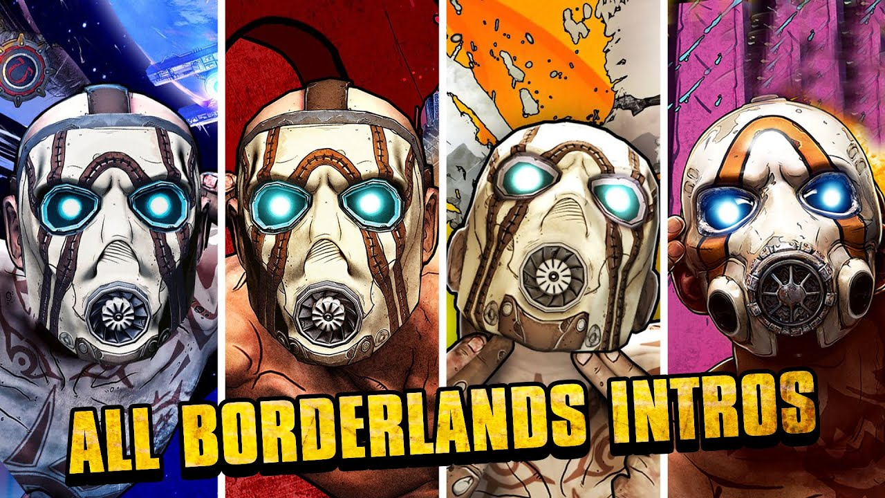 Download Borderlands - All Intros (The Pre-Sequel, 1, 2 & 3)